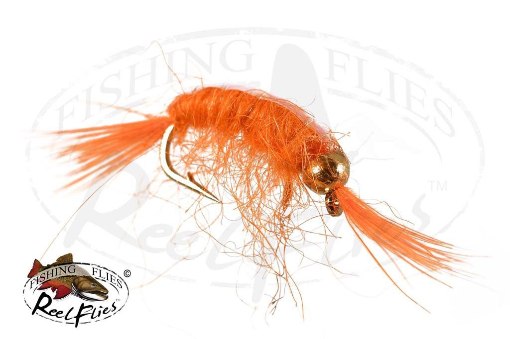 Beadhead Flashback Scud Orange