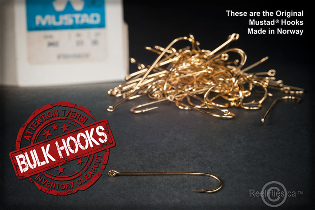 Mustad 9674A Gold