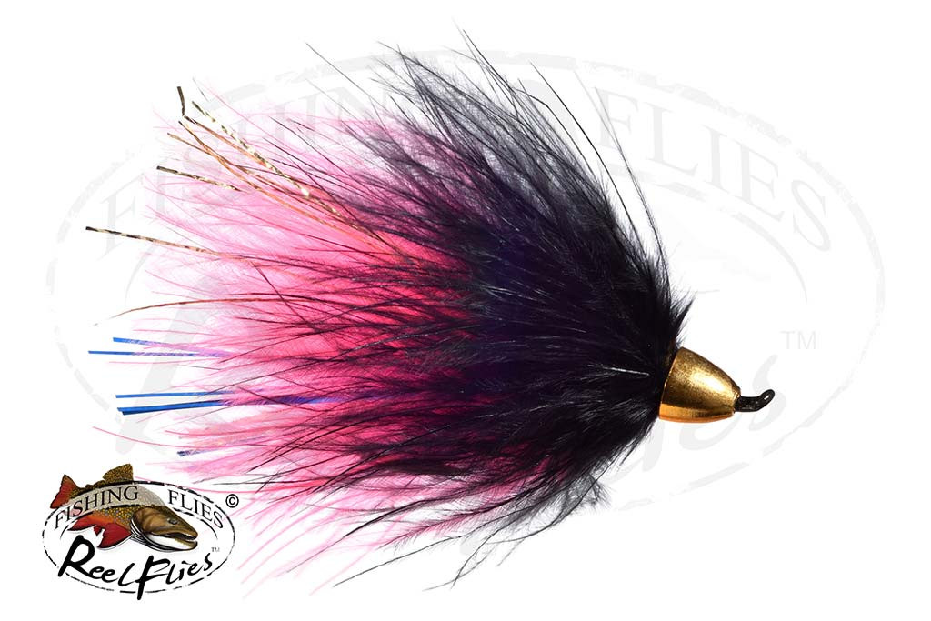 CH Popsycle Pink Black Streamer Fly