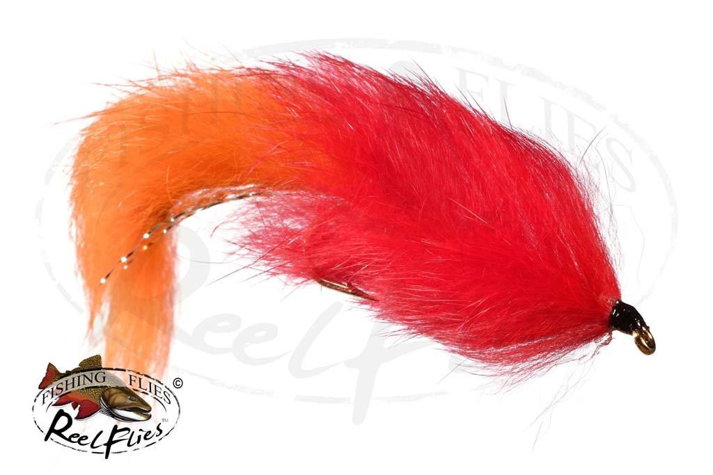 Flesh Fly Orange & Red Body
