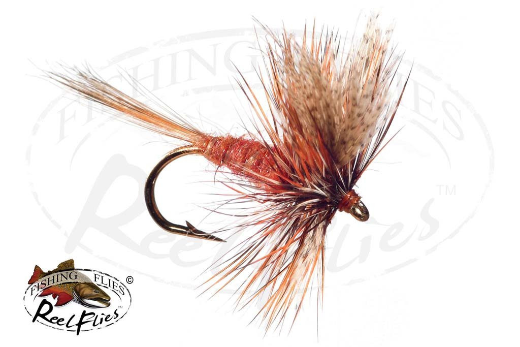 American March Brown Dry Fly