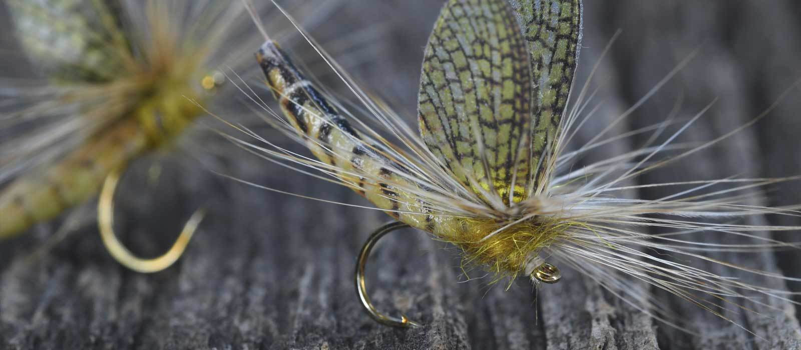 Realistic Dry Flies