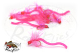 Hairy Squirmy Worm Pink