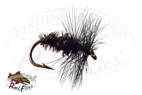 Black Gnat & Peacock Spider Dry