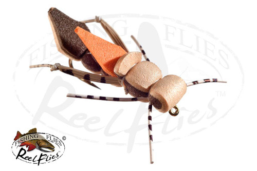 Reel Tan Brown Foam Hopper