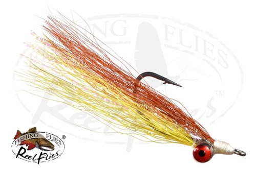 Clouser Minnow Yellow-Brown