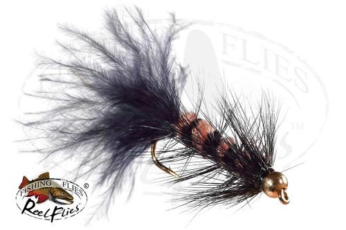 Beadhead Black Beaver FlyBeadhead Black Beaver Fly