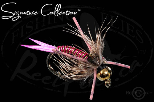 Steelhead Poacher Nymph Pink