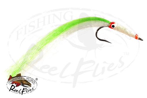 Needlefish Fly Green Saltwater Fly for Barracuda