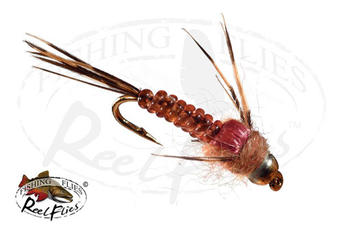 BH ReelFlies™ Ginger Quill Mayfly Nymph Fly