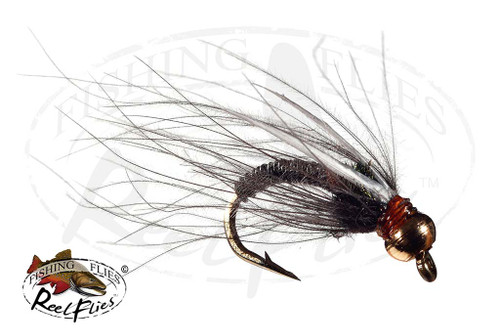 ReelFlies™ Copper Prince Nymph Black