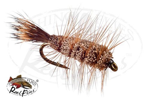 Buck Bug Brown Natural, Brown Hackle & Natural Tail