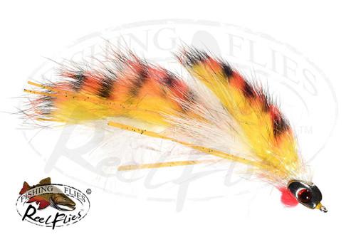 Orange Articulated Baitfish
