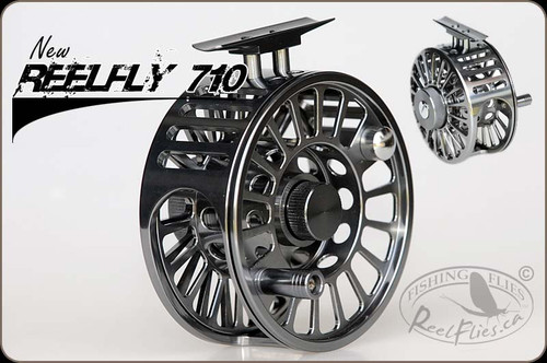 ReelFly 710 Large Arbor CNC Fly Reel