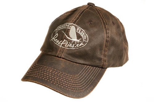Reelflies fly fishing ball cap rustic