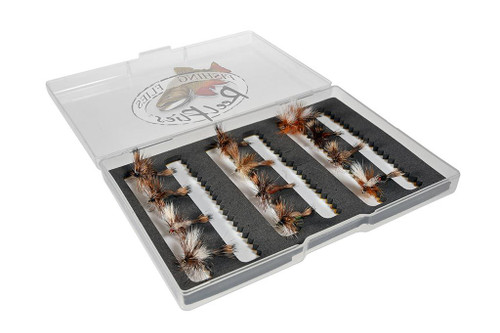 Humpy and Wulff Fly Selection