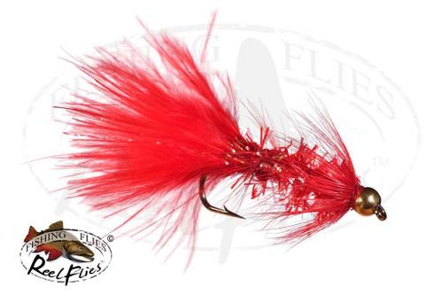 Beadhead Krystal Bugger Red