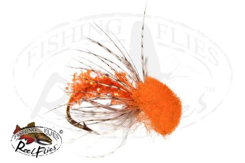 ReelFlies™ Orange Caddis