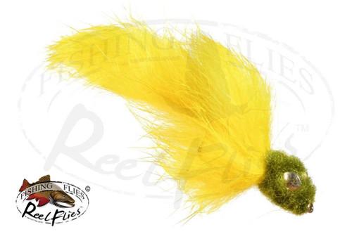 SRI Sculpin Olive Yellow