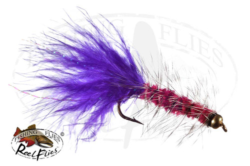 BH Purple Candy Woolly Bugger
