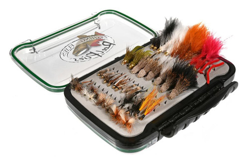 40 Trout Fly Selection
