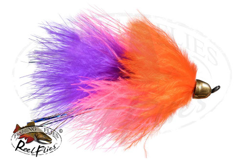 CH Popsycle Pink Orange Streamer Fly