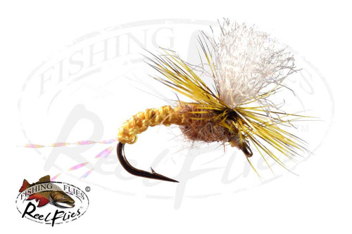 Golden Woven Emerger Parachute