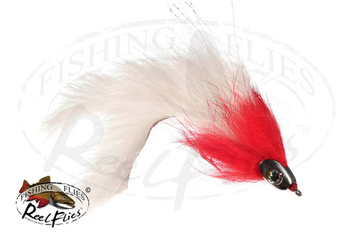 Fishmask Red Devil Split Tail Streamer
