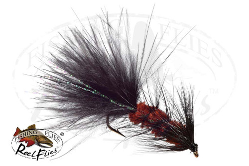 Woolly Bugger Black Brown