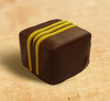 Mango chocolate truffle by Ü Chocolate for the World