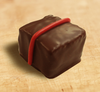 Red bean chocolate truffle by Ü Chocolate for the World