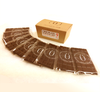 Chocolate Survival Kit showing individual bars by Ü Chocolate for the World