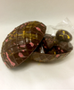 Rear view of open Elegant Egg by Ü Chocolate for the World