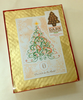 Elegant Dark Chocolate Christmas Tree boxed by Ü Chocolate for the World