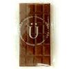 Single individually-wrapped bar of the Chocolate Survival Kit by Ü Chocolate for the World