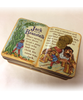 Top view of Jack and the Beanstalk Dark Chocolate Holiday Shapes Holiday Tin