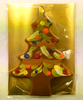 Packaged Milk Chocolate Hand-Painted Christmas Tree by Ü Chocolate for the World