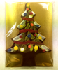 Packaged Dark Chocolate Hand-Painted Christmas Tree by Ü Chocolate for the World