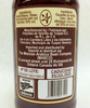 Back label detail of 240 ml Organic Vanilla Extract