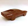 Milk chocolate Ferrari Testarossa, back right.