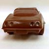 Milk chocolate Corvette Stingray, back.