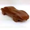 Milk chocolate Corvette Stingray, front right.
