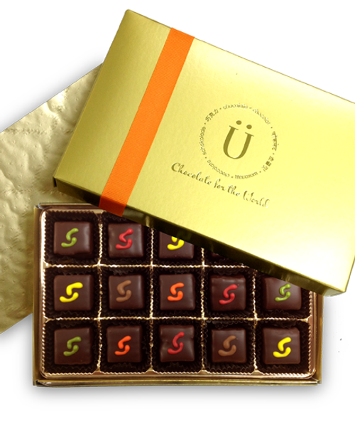 Introducing the Marz Lander gift collection by Ü Chocolate for the World