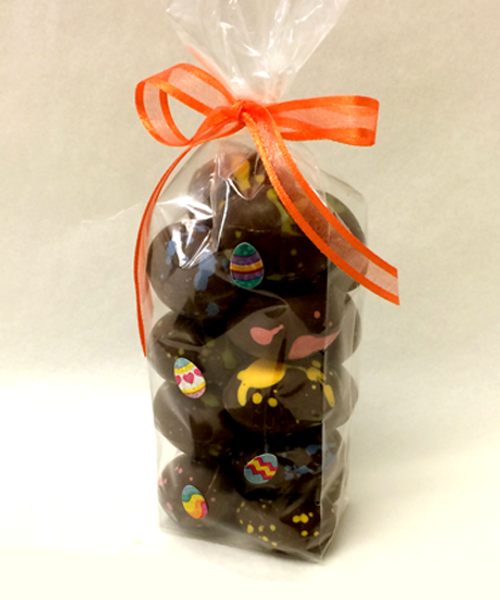Petite Easter eggs by Ü Chocolate for the World
