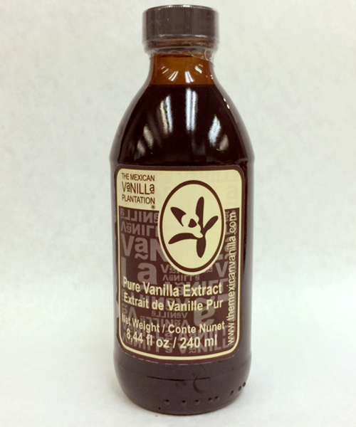 Introducing 240 ml Organic Vanilla Extract