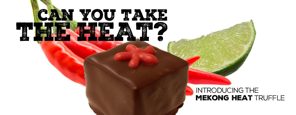 Taste the heat! Mekong Truffles in safe six-piece taster