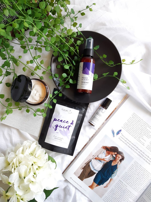 Peace & Quiet Aromatherapy Pamper Collection