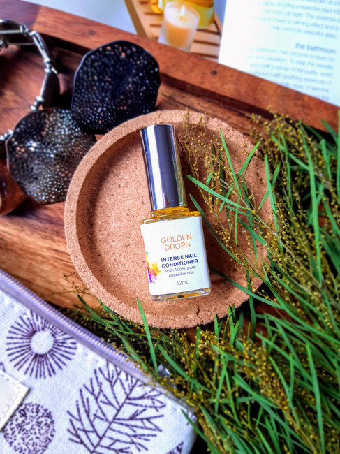 Fleurette Golden Drops Intense Nail Conditioner