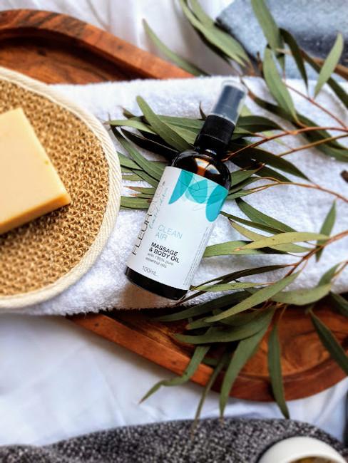 Clean Air Massage & Body Oil
