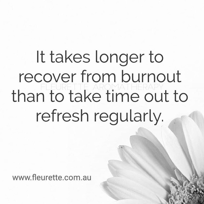 How to prevent burnout!